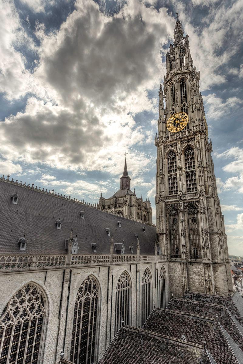 Kathedraal torens
