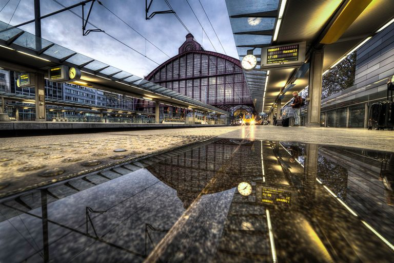 Centraal station reflectie