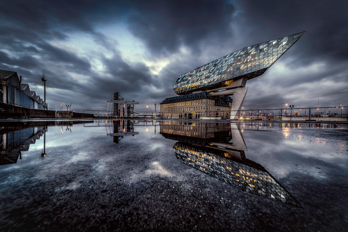 Havenhuis reflectie