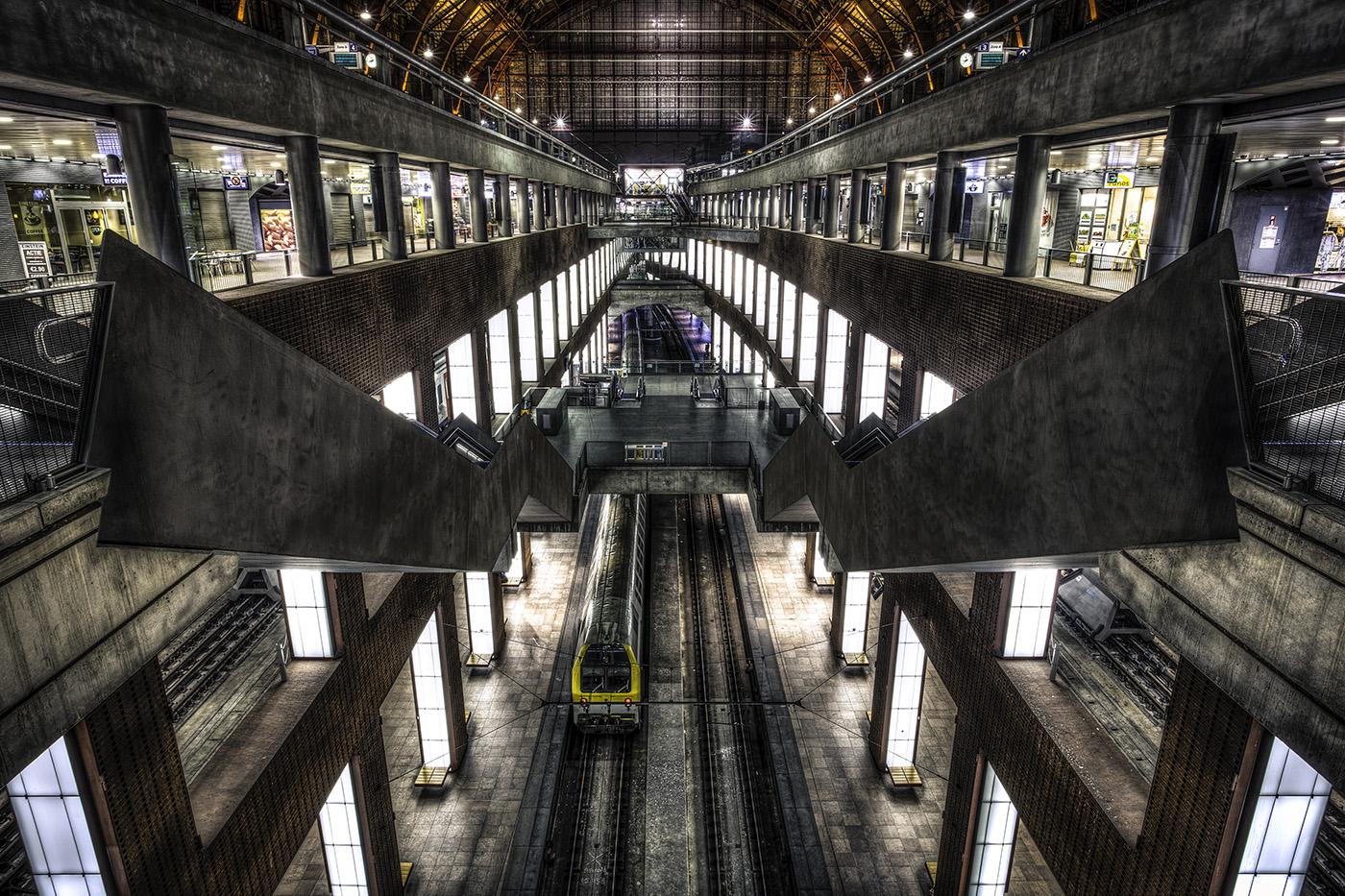 Centraal station verdiepingen